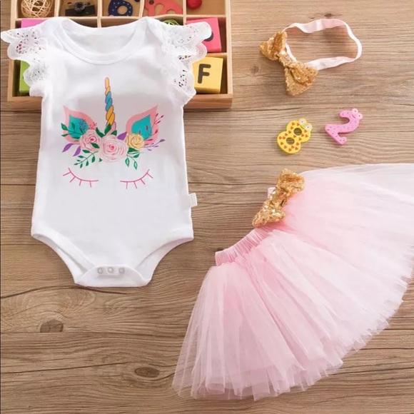 3cc44b7d8706 Matching Sets | 1st Birthday Unicorn Outfit | Poshmark
